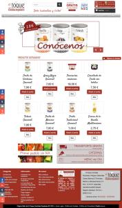 Entra en la tienda online de El Toque Comidas Populares