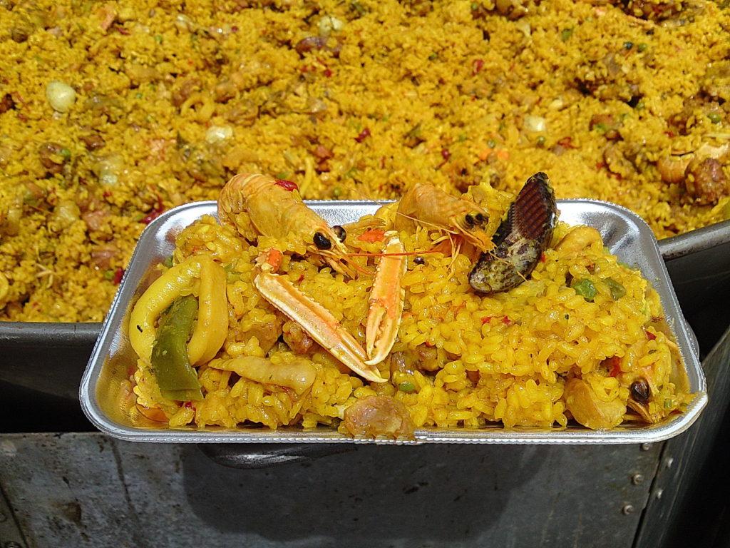 Paella Mixta Gourmet